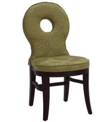 Sunpan Claudine Solid Wood Avocado Dining Chairs (Set of 2) - Thumbnail 1