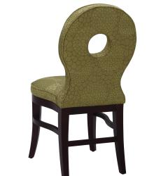 Sunpan Claudine Solid Wood Avocado Dining Chairs (Set of 2) - Thumbnail 2