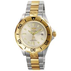 Invicta Men'S 'Grand Diver' Automatic Two Tone Watch