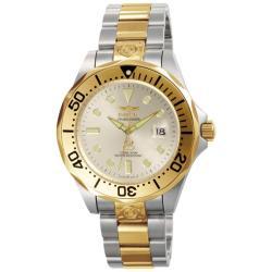 Invicta Men's 'Grand Diver' Automatic Two Tone Watch