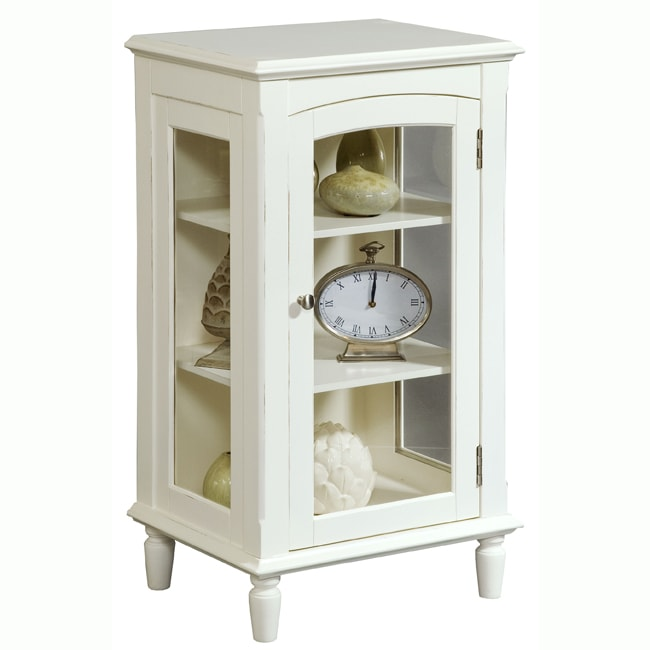 Painted White Accent Chest