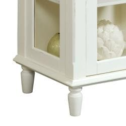 Painted White Accent Chest - Thumbnail 2