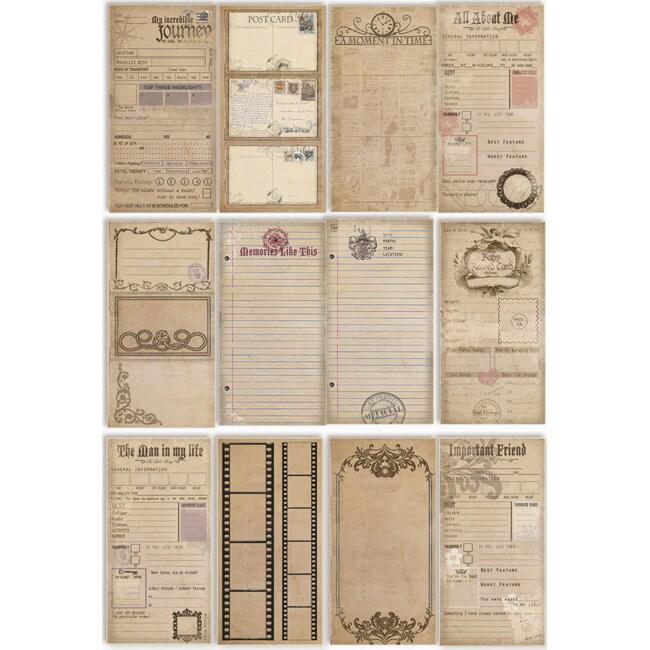 Heritage Journal Die-cuts 60-page Book