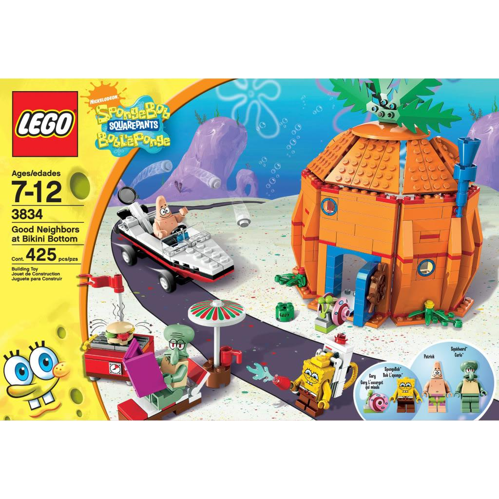 Shop Lego 3834 Spongebob Good Neighbors Free Shipping On Orders