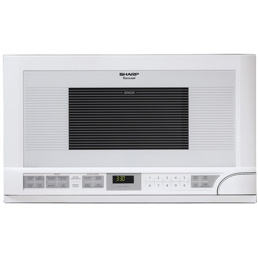 Sharp R1211T 1.5-cu-ft 1100-watt Over-the-counter Microwave