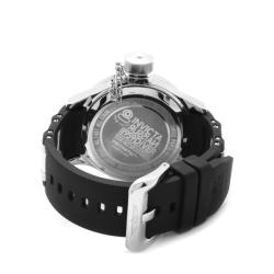 Invicta Men's 'Russian Diver' Black Dial Black Polyurethane Watch - Thumbnail 1