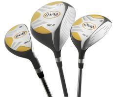 Oval Men's 10-piece Golf Club Starter Set - Thumbnail 1