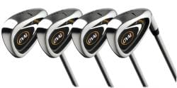 Oval Men's 10-piece Golf Club Starter Set - Thumbnail 2