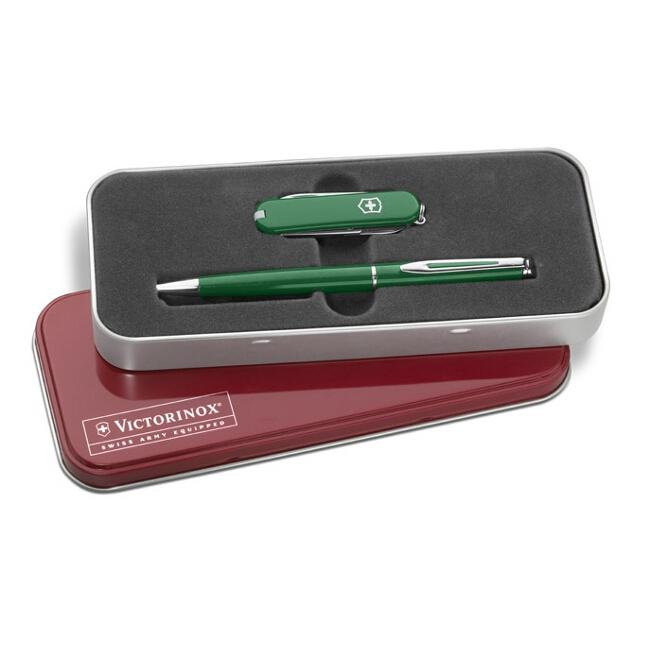 Victorinox Swiss Army Classic Swiss Army Knife and Waterman Pen Set