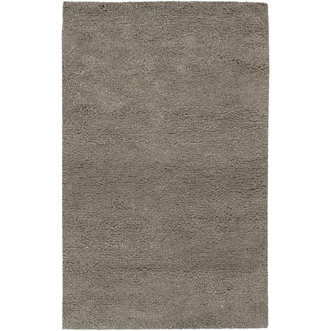 Hand-woven Mesquite Wool Plush Shag Area Rug (5' x 8')