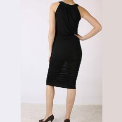 Tabeez Women's Ruched Column Dress - Thumbnail 1