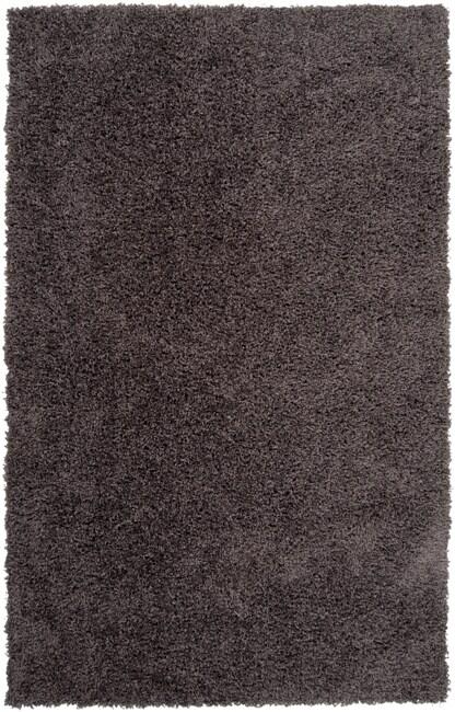 Expertly Woven Kirkland Grey Super Soft Shag Rug (8' x 10')