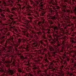 Expertly Woven Sutton Red Super Soft Shag Rug (8' x 10')