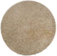 Hand-woven Finley Gold Soft Shag (10' Round)