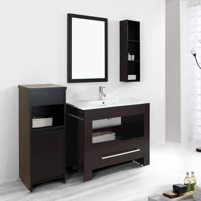 Lexi 40-inch Single-sink Bathroom Vanity Set