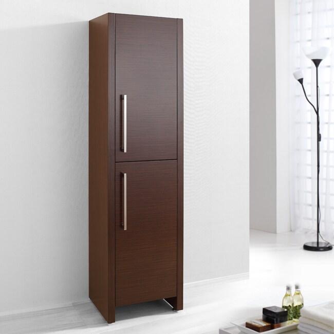 Virtu USA Belmont 16-inch Bathroom Vanity Side Cabinet