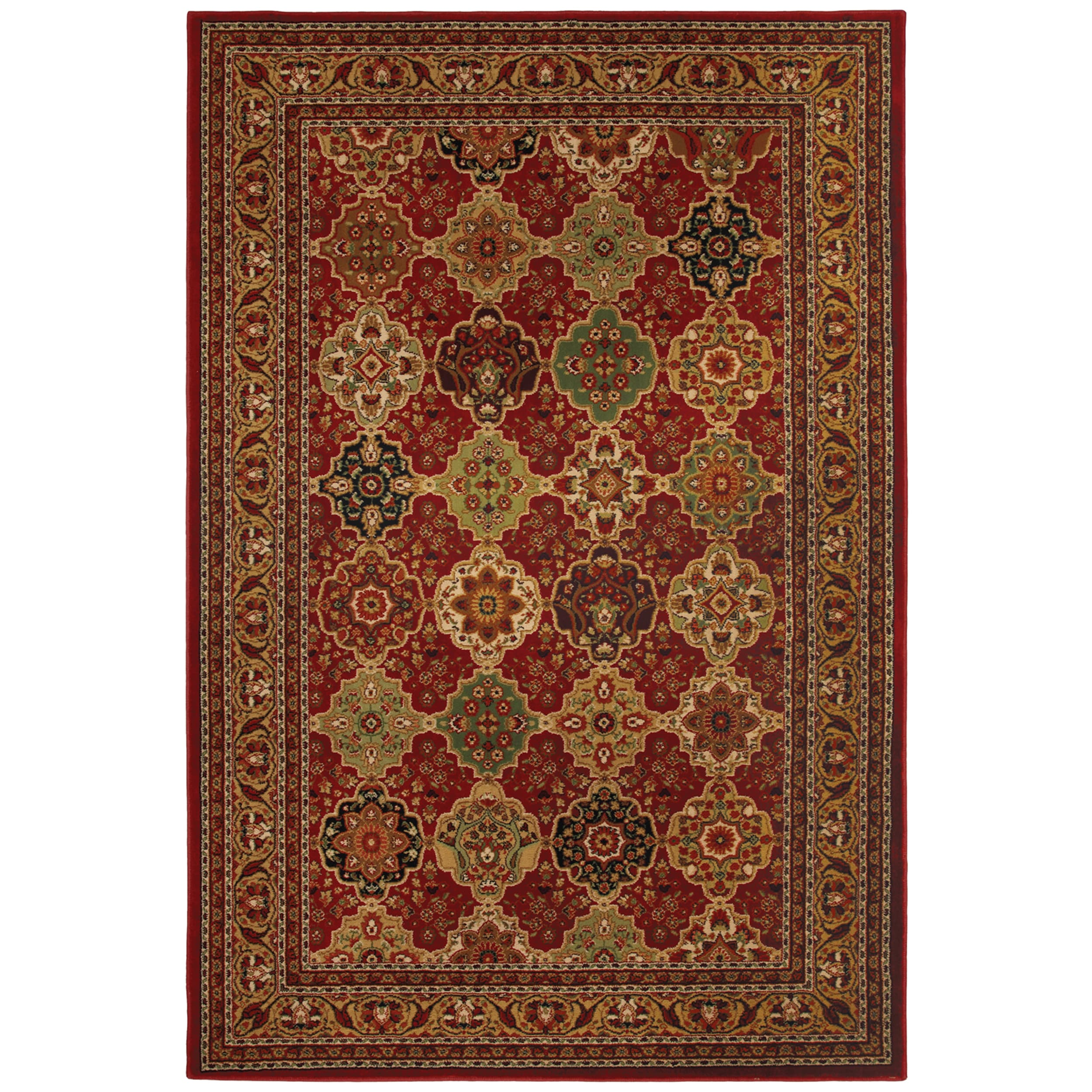 Alhambra Red Rug (8' x 11')