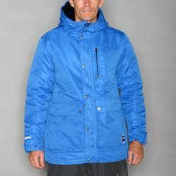 Pipeline Men's Solid Blue Snowboard Jacket
