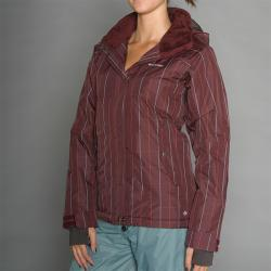Columbia Women's Ode to Attitude Wine Ski Jacket - Thumbnail 1