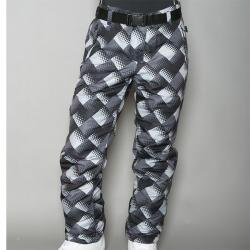 Pipeline Women's 'Check' Black Snowboard Pants - Thumbnail 1