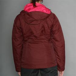 Columbia Women's Slash N' Dash Burgundy Ski Jacket