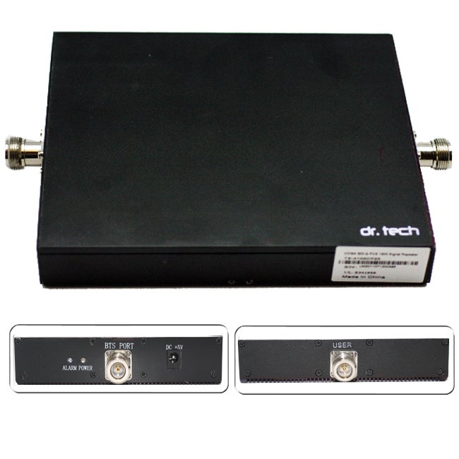 dr. Tech Dual Band Cell Phone Antenna Signal Booster/ Repeater/ Amplifier and Panel Antenna