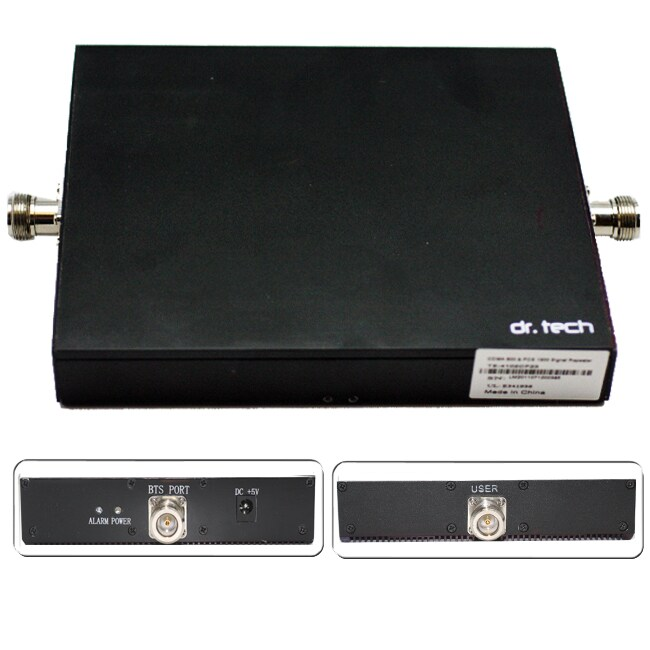 dr. Tech Dual Band Cell Phone Antenna Signal Booster/ Repeater/ Amplifier