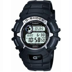 Casio Men's 'G-Shock' Black Resin Solar Atomic Watch