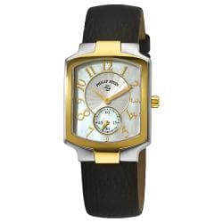 Philip Stein Women's Classic Black Strap Two Tone Watch - Thumbnail 0