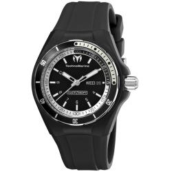 TechnoMarine Unisex 'Cruise Sport' Rubber Strap Day Date Watch
