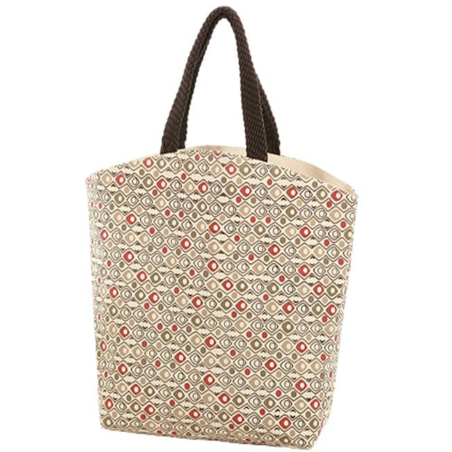Red Eye Canvas Carry Tote Bag