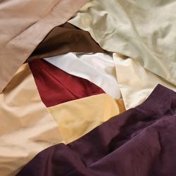 Superior Cotton 600 Thread Count Solid Full / Queen-size 3-piece Duvet Cover Set - Thumbnail 1