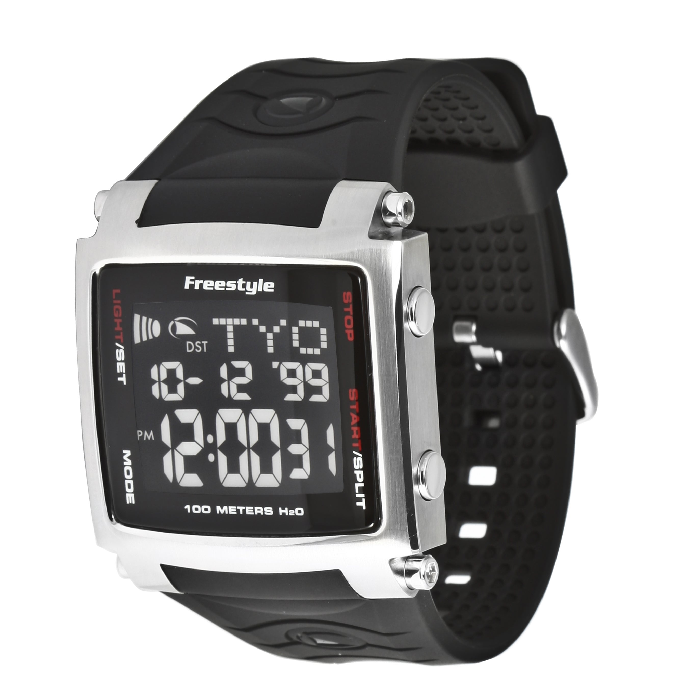 style men s lopex iii world time black digital watch style men s lopex iii world time black digital watch