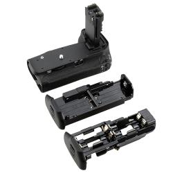 Battery Grip with AA/ Li-ion Battery Holders for Canon EOS 60D - Thumbnail 2