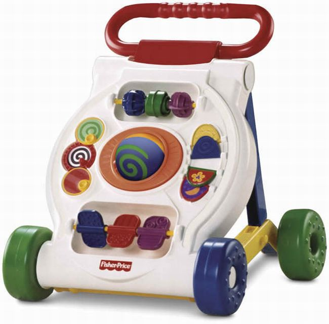 Fisher Price Brilliant Basics Activity Baby Walker