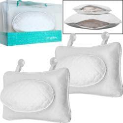 Thumbnail 1, Remedy Microterry Bath Pillows (Set of 2).