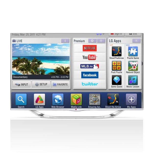 """LG 47LA7400 47"""" 3D 1080p LED-LCD TV - 16:9 - HDTV 1080p - 240 Hz"""