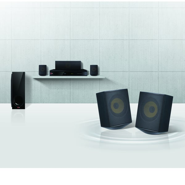 LG BH6730S 5.1 3D Home Theater System - 1000 W RMS - Blu-ray Disc Player. Opens flyout.