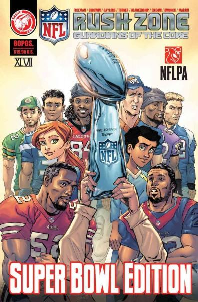 NFL Rush Zone 1: Guardians of the Core  (Paperback)