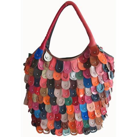 Amerileather Women's Peacock Style Handbag