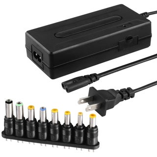 INSTEN Universal Notebook Travel Charger Set with Connectors