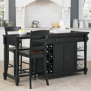 Grand Torino Kitchen Island and Two Stools by Home Styles & Kitchen Islands - Shop The Best Deals for Nov 2017 - Overstock.com islam-shia.org