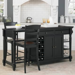 kitchen island furniture. Gracewood Hollow Remarqu Kitchen Island and 2 Stools Islands For Less  Overstock com