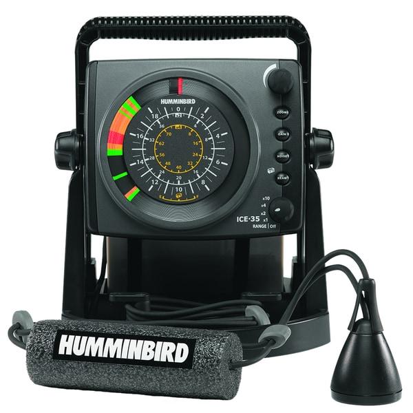 Humminbird ice 35 ice fishing flasher free shipping for Ice fishing flasher