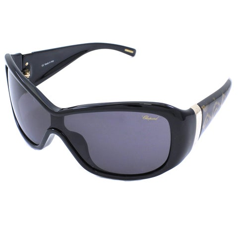 Chopard Women's SCH 054/S 700 Black/ Gold Sunglasses