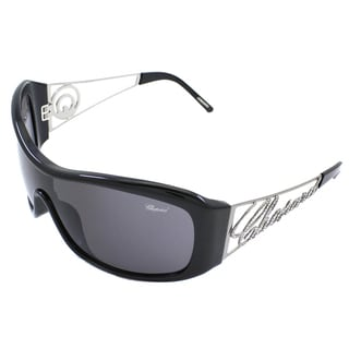 Chopard Women's SCH 0294/S 700 Black/ Silver Fashion Sunglasses