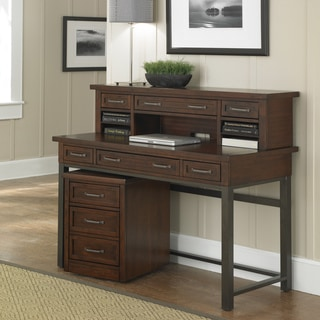 Home Styles Cabin Creek Executive Desk Hutch and Mobile File