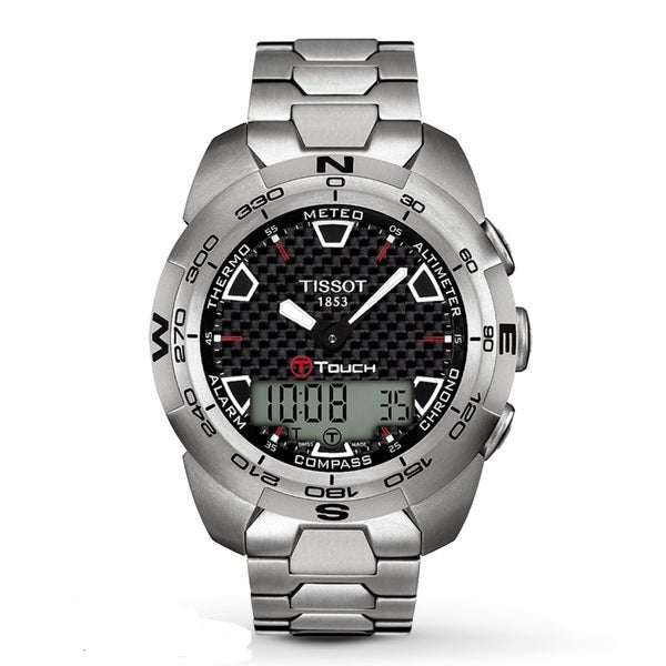 Tissot Men's T0134204420100 'T-Touch Expert' Analog-Digital Multifunction Watch