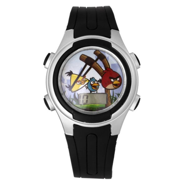 Angry Birds Children's 'Sling-Shot Pig-Poppin Action' Watch