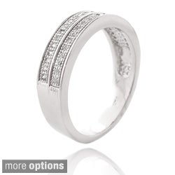 Icz Stonez Color-plated Clear Cubic Zirconia Ring